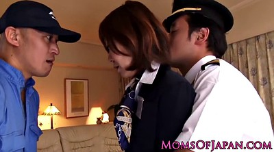Japanese mature, Japanese anal, Japanese fetish, Stewardess, Japanese uniform