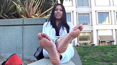 Smelly, Asian foot, Sole