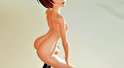 Mmd, Open pussy