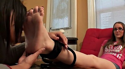 Worship feet, Tied feet