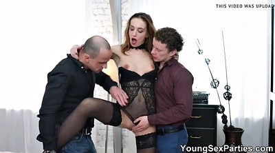 Party, Hazel, Double penetration, Anal group