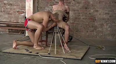 Tie, Tied, Chair, Blindfold