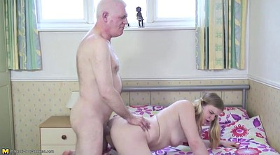 Father, Father daughter, Fucking, Young daughter, Granny blowjob, Old father