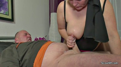Grandma, Nuns, Dads, German dad, German bbw, Sextape