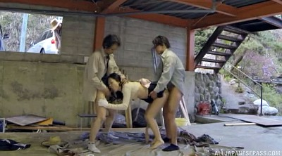 Doggy style, Japanese threesome