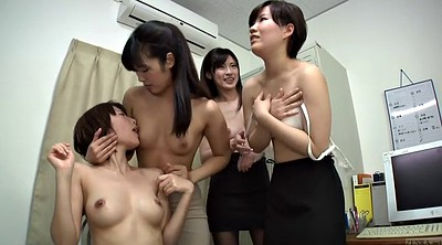 Japanese office, Lick, Japanese orgy, Female, Asian office, Subtitle