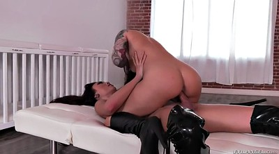 Chubby creampie, Boots, Chubby milf pussy creampie
