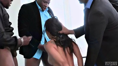 Asa akira, Brutal, Asian black cock, Dick, Asian gangbang