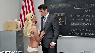 College student, Teacher fuck student, Seduces