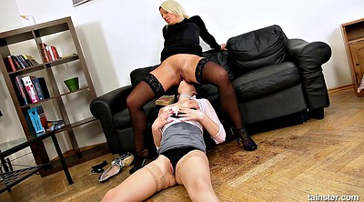 Boss, Secretary, Ass fucking