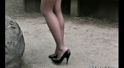 High heels, Climax, Worship, High, Office worship, Office foot