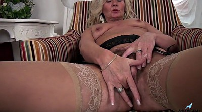 Hairy mature masturbation, Hairy mature