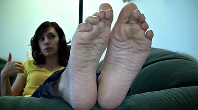 Sole, Feet sole, Brunette