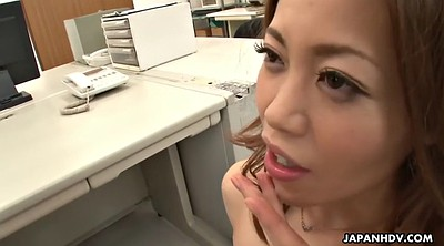 Secretary, Japanese office, Yui, Japanese masturbation, Japanese dildo, Japanese tits