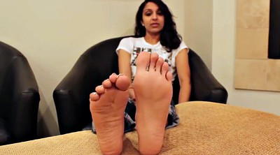 Indian, Sole, Fetishism, Feet solo