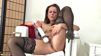 Stockings milf, Fuck mother