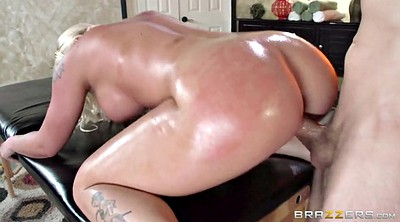 Oiled, Massage and fuck