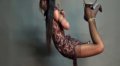Extreme, Chinese beauty, Hang, Chinese beautiful, Chinese bdsm, Hogtied