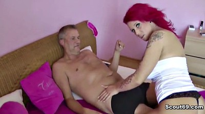 Old man, Young man, Lexi, German fuck