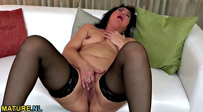 Stocking mature, Mature masturbation, Masturbation stocking