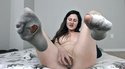Socking, Sock, Solo babes, Socks, Dirty feet