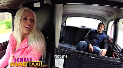 Taxi, Kissing, Female fake taxi, Female fake