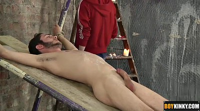 Handsome boy, Tied blowjob