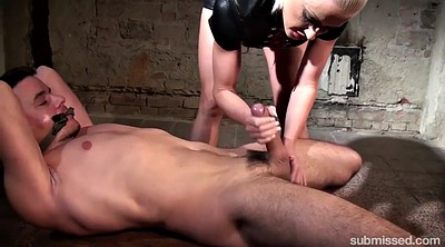 Bdsm, Whip, Tied up, Femdom handjob cumshot, Whipping, Victoria