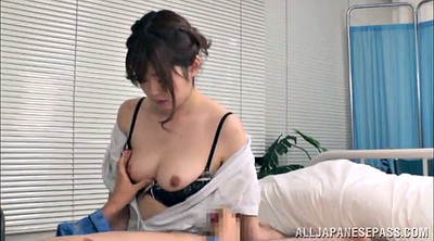 Nurse, Asian handjob, Nature, Nurse handjob