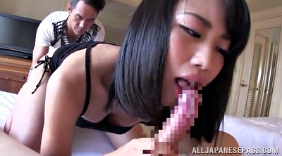 Cum in mouth, Japanese handjob, Double blowjob, Blowjob japanese