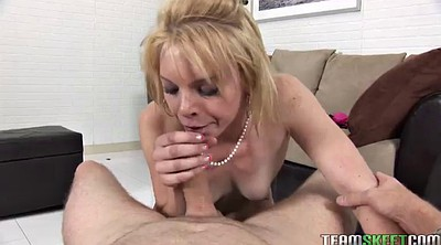 Deep throat, Mather, Missy, Hot blond
