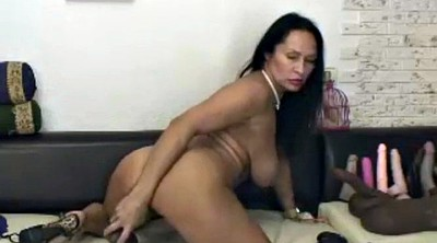 Latina granny, Big dildo, Granny sex, Granny big tits, Big tits riding, Big tit granny