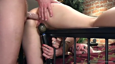 Tied, Tied up fucked, Blonde anal