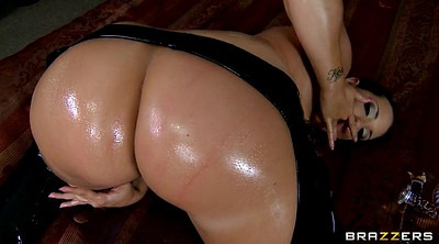 Leather, Shaking, Kelly, Kelly divine, Ass show