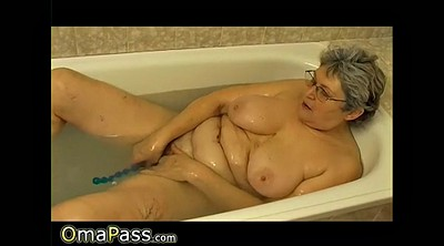 Hairy, Granny solo, Mature solo, Bathroom, Solo mature, Hairy granny