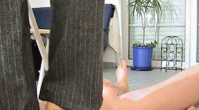 Chair, Foot handjob