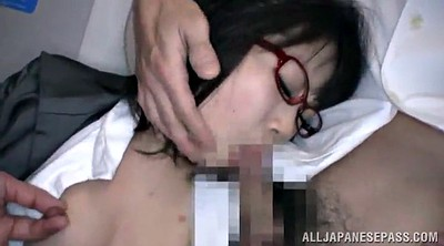 Asian gangbang, Panties, Glasses