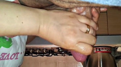Cfnm, Handjob, Wife massage