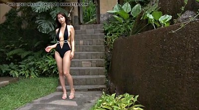 Swimsuit, Asian ebony