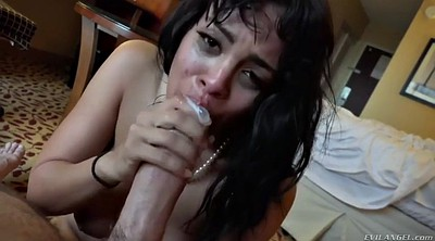 Uncut, Latina doggy fucking brunette