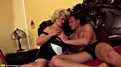 Old, Young creampie, Mature hairy, Granny creampie