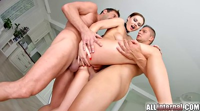 Creampie gangbang, Internal, Creampies, Tina kay, Tina, International anal