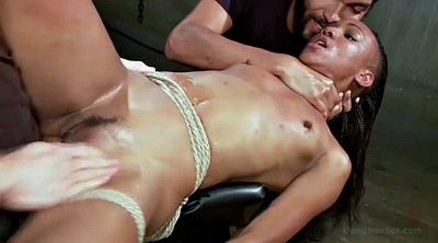 Threesome milf, Rope, Interracial missionary, Bdsm anal