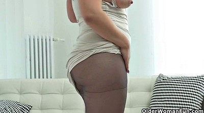 Nylon pantyhose, Matures
