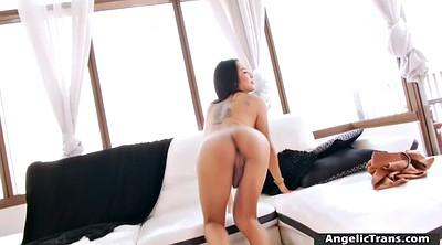 Shemale, Asian boobs, Asian masturbation, Asian boob