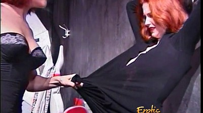 Ginger, Freckles, Tie up, Femdom pee