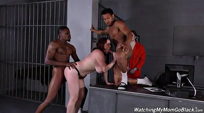 Prison, Prisoner, Interracial bbw