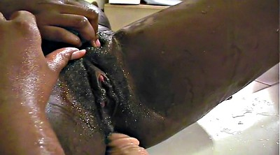 Peeing, Pussy sucking, Black pussy