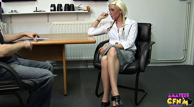 Office, Handjob cumshot