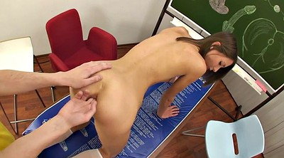 Lesson, Teen facial, Skinny young